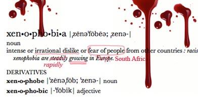 I am Xenophobia!